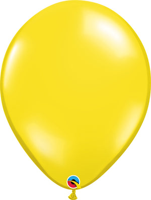 Open image in slideshow, Qualatex 16 inch jewel tone balloons in citrine yellow