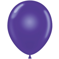 Tuf-tex 14 inch crystal balloons in purple