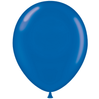 Tuf-tex 11 inch crystal balloons in blue