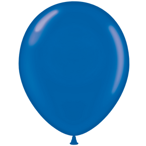 Open image in slideshow, Tuftex 11 inch crystal balloons in blue