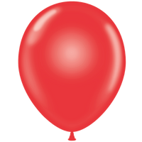 Tuf-tex 14 inch crystal balloons in red