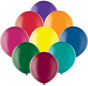 "Belbal 24"" round crystal balloons in assorted colours"