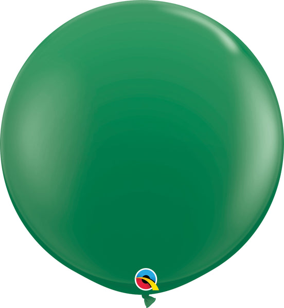 Qualatex 36 inch standard balloons in green