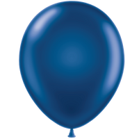Tuf-tex 11 inch metallic balloons in blue