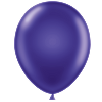 Tuf-tex 11 inch metallic balloons in grape