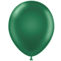 Tuf-tex 11 inch metallic balloons in green