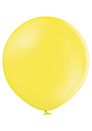"Open image in slideshow, Belbal 24"" round standard balloons in yellow"