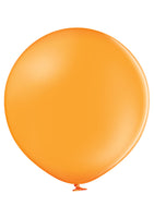"Belbal 24"" round standard balloons in orange"