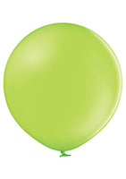"Belbal 24"" round standard balloons in apple green"
