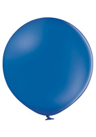 "Belbal 24"" round standard balloons in royal blue"