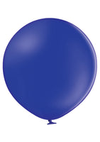 "Belbal 24"" round standard balloons in night blue"