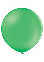 "Belbal 24"" round standard balloons in bright green"
