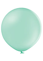 "Belbal 24"" round standard balloons in light green"