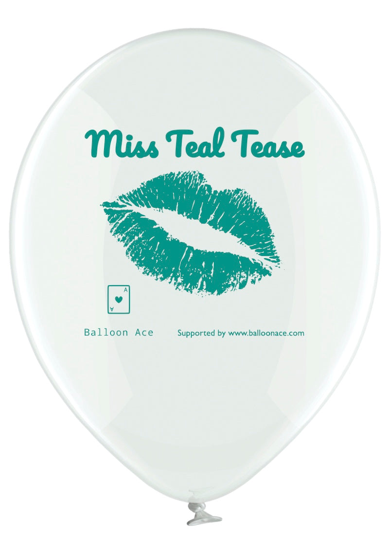 Balloon Ace Miss Teal Tease balloons