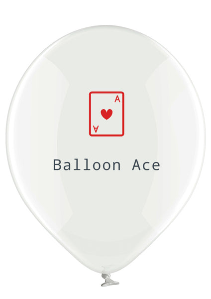 Balloon Ace (Belbal) custom printed balloons