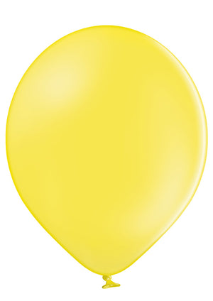 "Open image in slideshow, Belbal 12"" round standard balloons in yellow"
