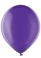 Belbal 12 inch crystal balloons in purple