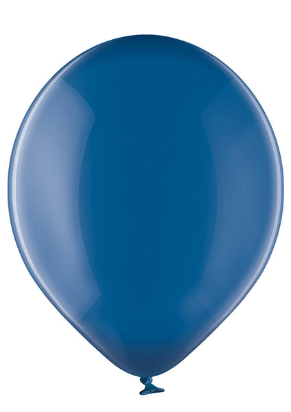 Belbal 12 inch crystal balloons in blue