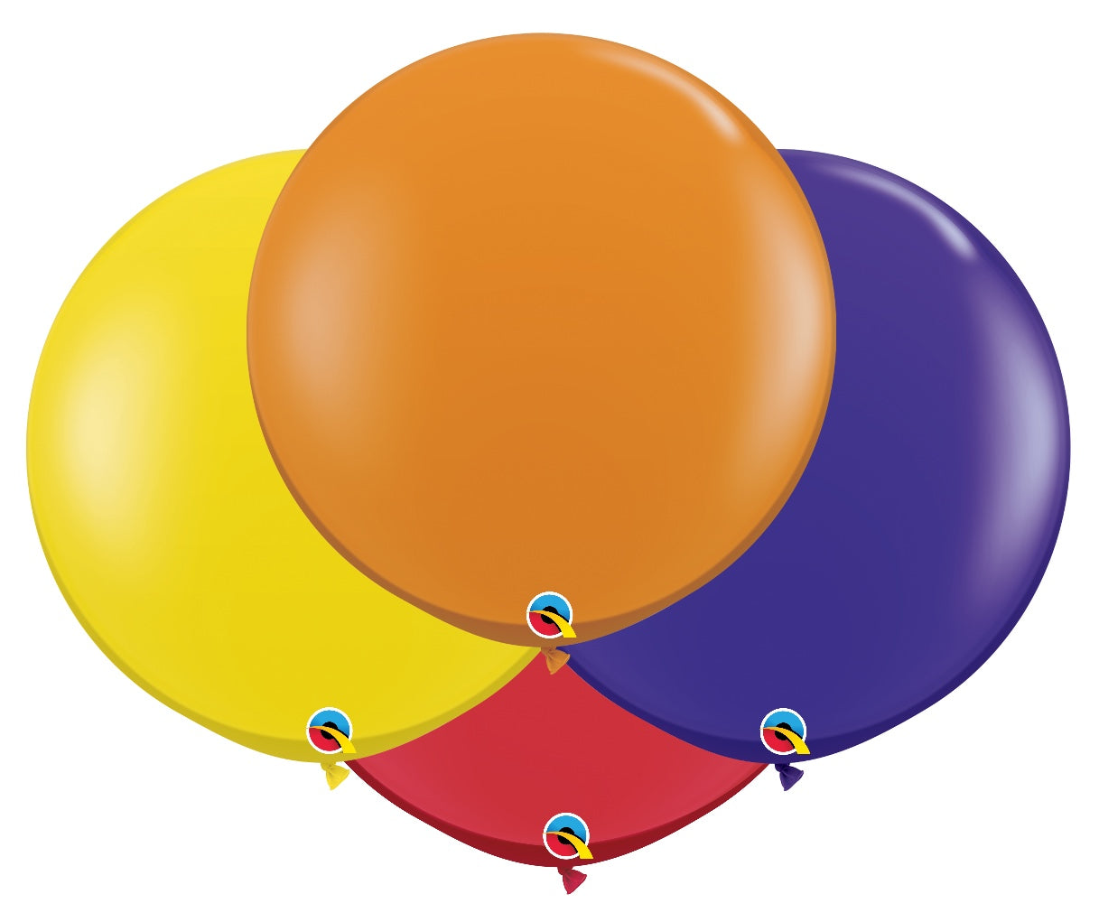 Qualatex 36 inch jewel tone balloons