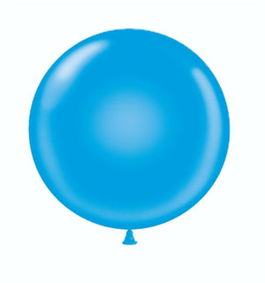 Open image in slideshow, Tuftex 24 inch standard balloons in blue
