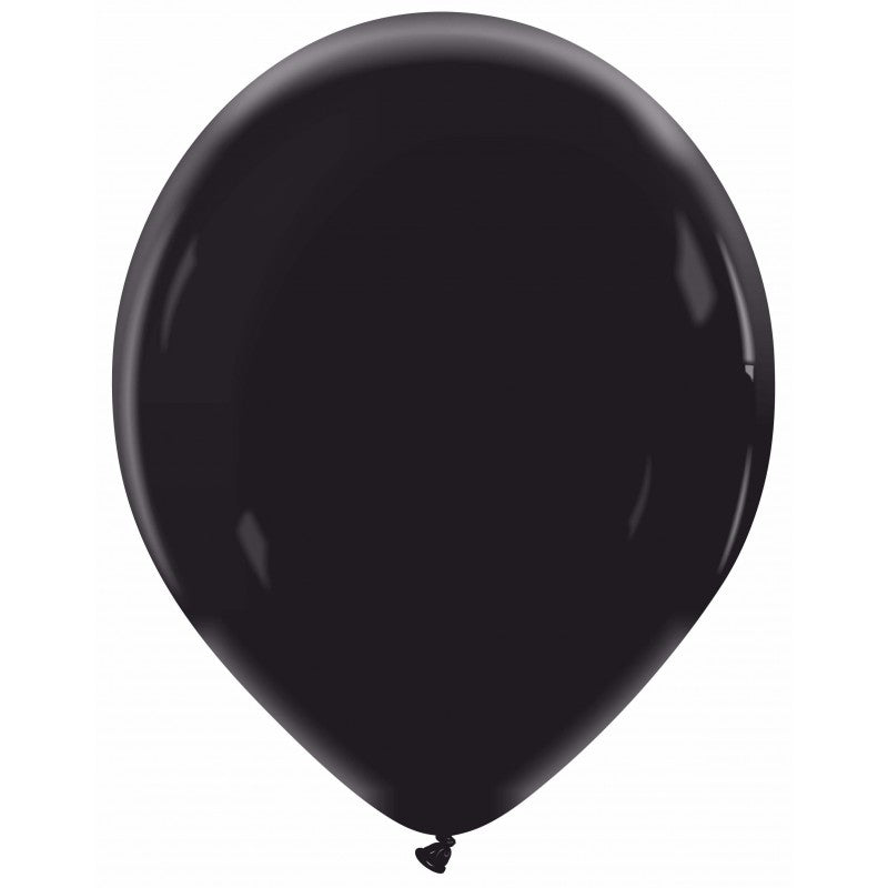 Cattex 13 inch standard balloons in black