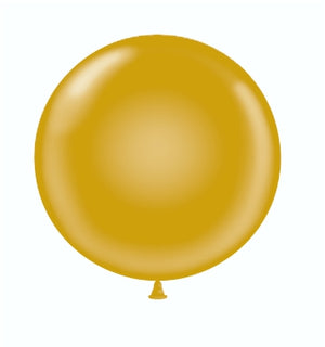 Open image in slideshow, Tuf-tex 36 inch metallic balloons in gold