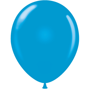 Open image in slideshow, Tuftex 11 inch standard balloons in blue