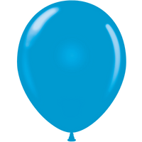 Tuf-tex 14 inch standard balloons in blue