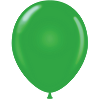 Tuf-tex 14 inch standard balloons in green