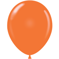 Tuf-tex 14 inch standard balloons in orange