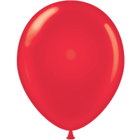 Tuf-tex 14 inch standard balloons in red