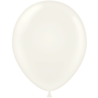 Tuf-tex 14 inch standard balloons in white