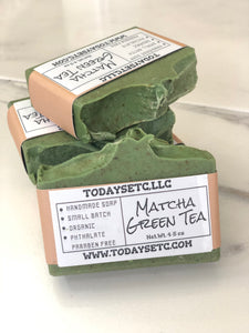 MATCHA GREEN TEA BODY BAR