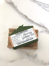 Load image into Gallery viewer, MATCHA GREEN TEA BODY BAR
