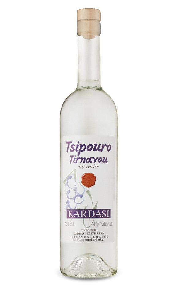 Tsipouro of Tyrnavos ohne Anis griechischer