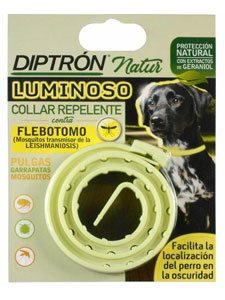 DIPTRON NATUR COLLAR REPELENTE LUMINOSO