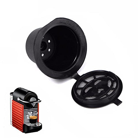 Refillable Coffee Capsule Cup Reusable Refilling Filter For Nespresso Machine