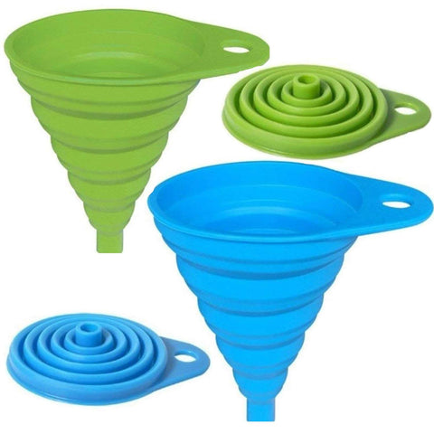 Collapsible Oil Funnel Kitchen Tool