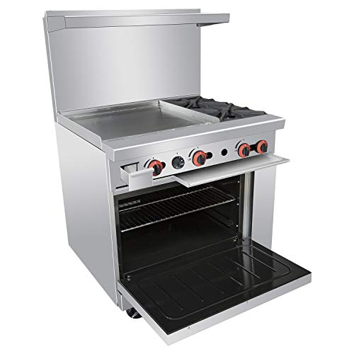 Hotplate 2 Burner on Stand Commercial Kitchen Equipment Stainless Gas Griddle