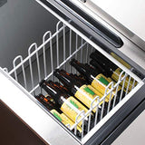 KITMA Deep Well Horizontal Bottle Cooler - Commercial 80 Inches Beer Coolers for Bottles for Restaurant Bar, 33°F - 38°F