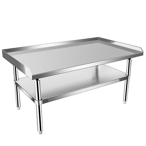 Stainless Steel Tables With Undershelf