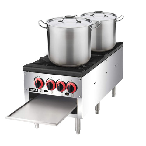 Stock Pot Ranges and Burners
