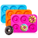 3-Pack Donut Baking Pan, Non-Stick Mold, Perfect Shaped Doughnuts