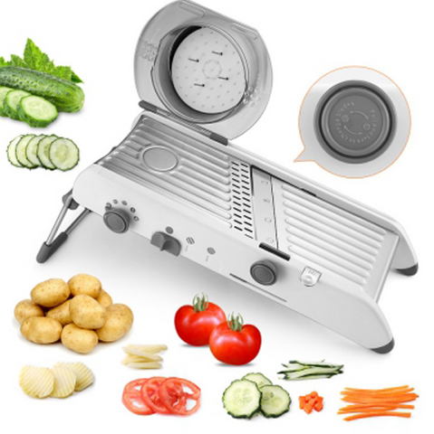 Manual Vegetable Slicer Mandoline Cutter Grater
