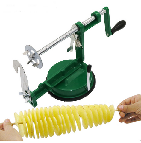 Tornado Slicer Manual Cutter Spiral Chips