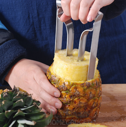 Stainless Steel Pineapple Corer Fruit Slicer
