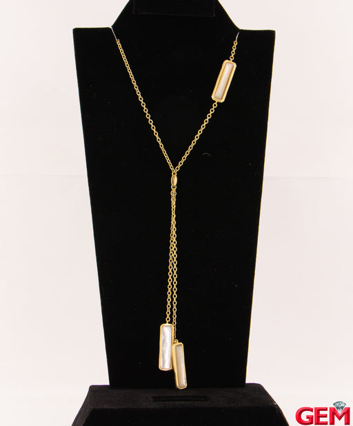 "Ippolita Rock Candy Gelato 18K 750 Yellow Gold Rectangular Pendant Necklace 27"" - Pre-Owned for sale at Gem Pawn"