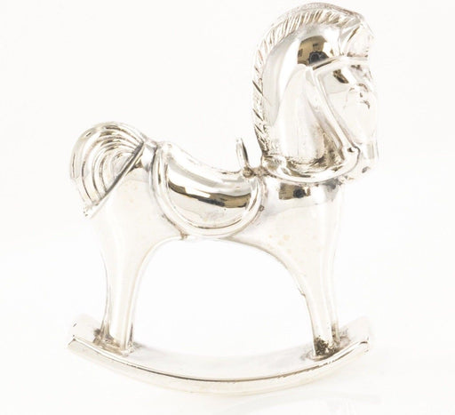 RM Trush 925 Sterling Silver Baby Rocking Horse Charm Pendant - Pre-Owned for sale at Gem Pawn
