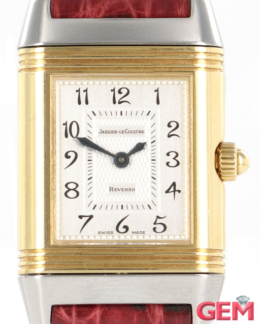 Jaeger LeCoultre Reverso Duetto 266.5.44 Stainless Steel Yellow Gold Watch