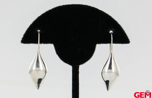 Michael Dawkins Sterling Silver 925 Thailand Drop Earrings - Pre-Owned for sale at Gem Pawn